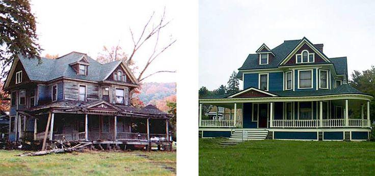 21 övergivna hus före och efter totalrenovering – Wow vilken skillnad! - Sköna hem