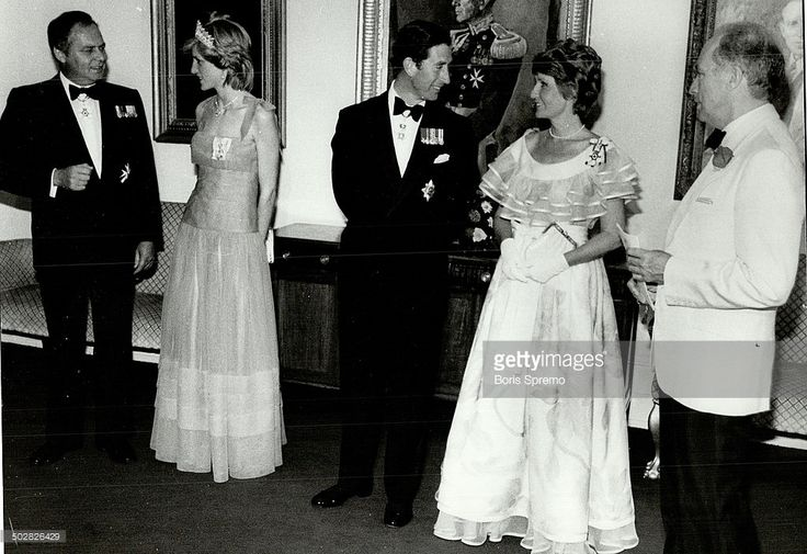 News Photo : Prince Charles and Princess Diana