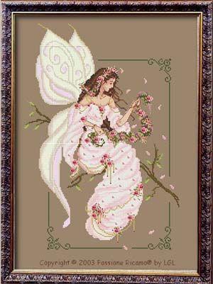 Spring Fairy Spirit - Cross Stitch Pattern by Passione Ricamo