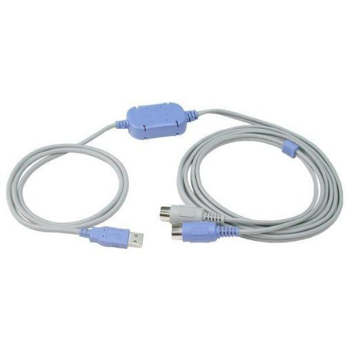 Hosa USB To Midi by Hosa. $25.98. The Hosa USM422 USB to MIDI Cable makes connecting your MIDI equipment to your computer's USB port easier than ever. Simply load the included driver and connect the cables—it's that easy! For Windows.
