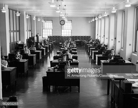 1930s 1940s OFFICE