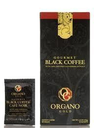 GOURMET BLACK COFFEE is sure to attract and awaken your senses. Its dark smooth taste and deep aroma infused with 100% certified authentic Ganoderma introduces coffee lovers to a new and delicious alternative. With OG's Black Coffee, instantly enjoy the taste of freshly brewed coffee. 30 Sachets Per Box $30.00