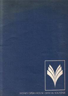 Sydney Opera House: the official Souvenir, Ava Hubble, 1973 #book #logo