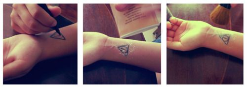 """Create your own temp tattoos.    A """"try it before you buy it""""?"""
