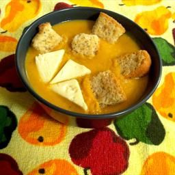 Creamy Butternut Squash and Roasted Pear Soup: Pears Soups, Roasted Pears, Soups Recipes, Food Food, Roasted Butternut Squash, Squashes, Favorite Recipes, Eating Soups, Creamy Butternut