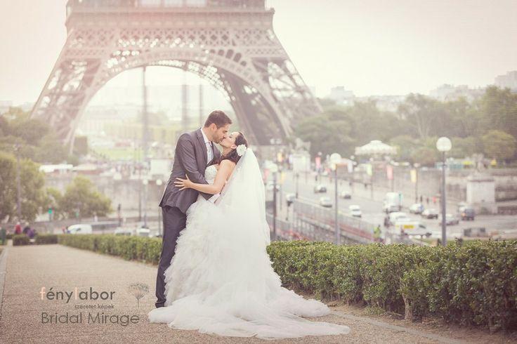 Párizs a szerelem városa (és az én fátylam)