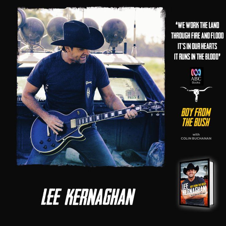 Lee Kernaghan's very outback memoir is an affectionate celebration of the sounds, characters and milestones (as well as the odd calamity) behind the making of an Australian music legend. http://www.harpercollins.com.au/9780733333668/boy-from-the-bush-the-songs-and-the-stories #LeeKernaghan #BoyFromTheBush #CountryMusic