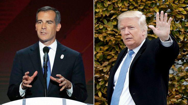 LA Mayor Eric Garcetti may consider 2020 White House run NY Times reports