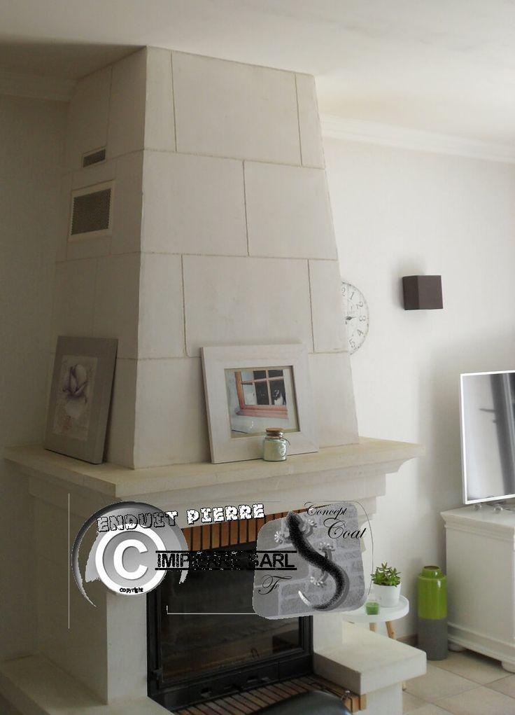 Les 25 meilleures id es de la cat gorie chemin es avec - Decoration hotte de cheminee ...