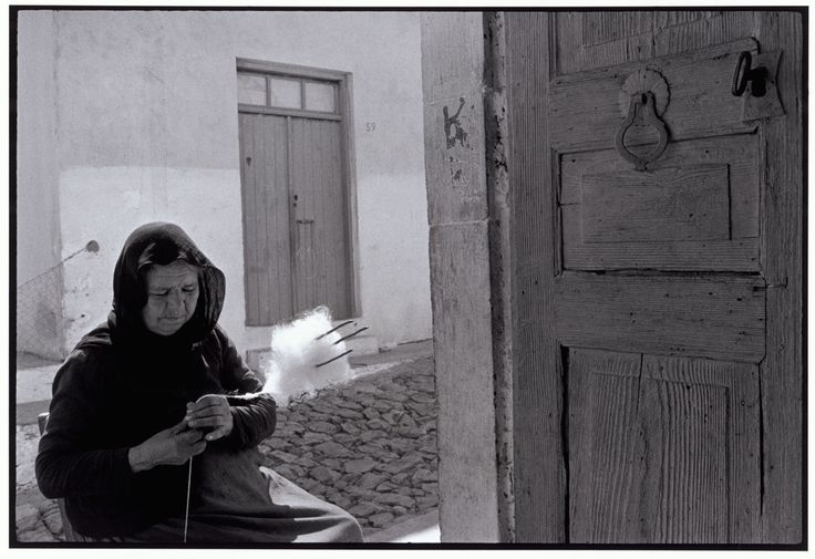 "Constantine Manos  View profile    GREECE. Crete. 1964. Woman carding wool. ""A Greek Portfolio"""