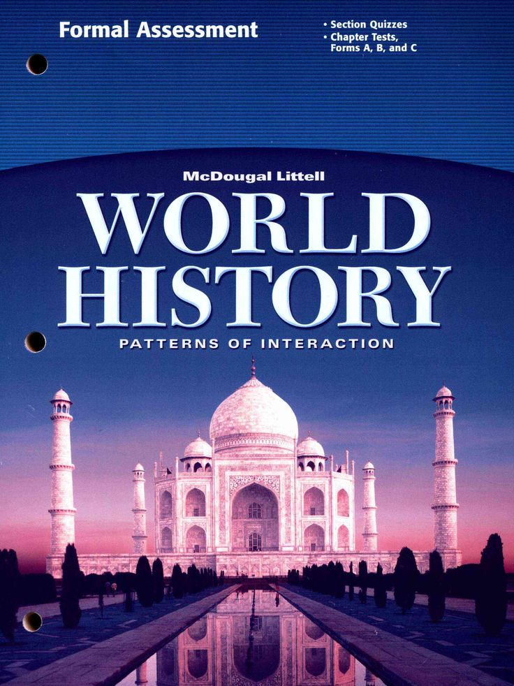 World History Patterns of Interaction Grades 9-12 Formal - formal assessment