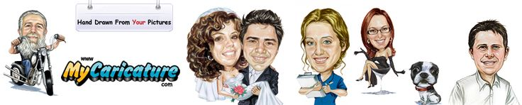 Today i would like to allotment a nice site. Hope you will be satisfied. At MyCaricature.com you can draw beauteous     caricatures from your own pictures. Just upload your pictures on any of the adjustment pages and see how your duke     fatigued custom caricature will attending like in alone a few days. Visit the website for added info. Here the link: http://www.mycaricature.com/