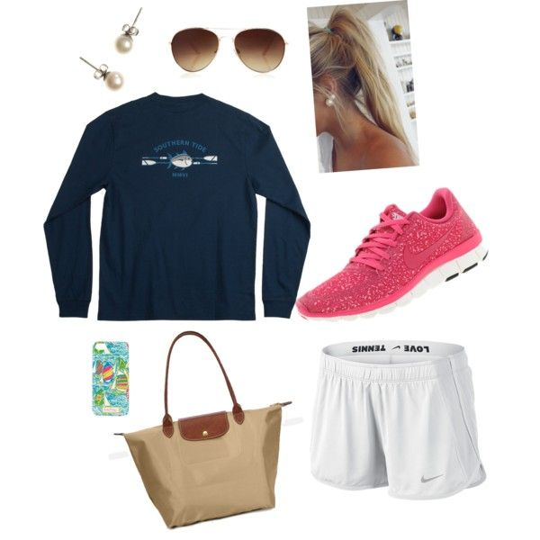 """College life!"" by bamaprepgal on Polyvore"