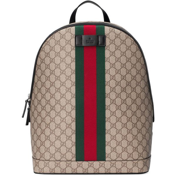 0f46943948b Gucci Gg Supreme Backpack With Web ( 1
