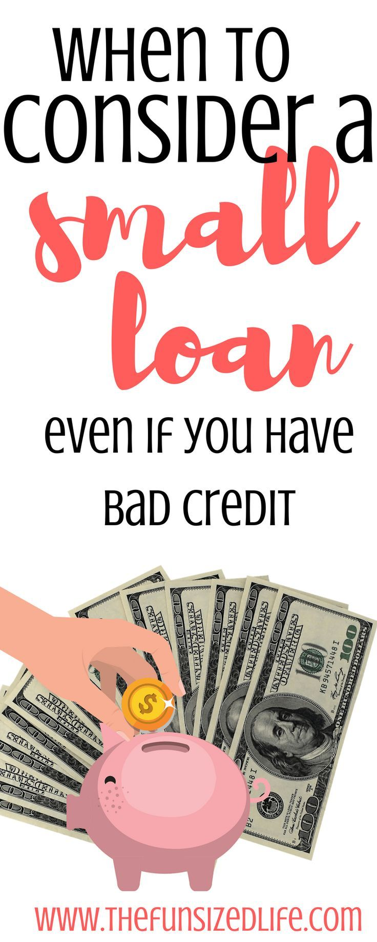 How To Take Out A Personal Loan Even If You Have Bad Credit Bad Credit Personal Loans Money Life Hacks