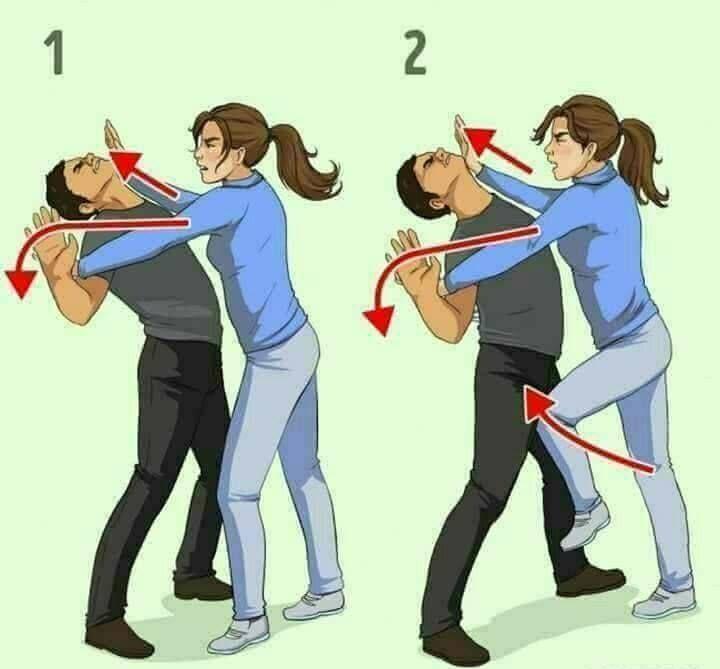 ΑΥΤΟΑΜΥΝΑ | Self defense tips, Self defense moves, Self