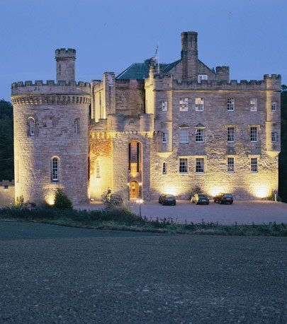 Dalhousie Castle Hotel, rooms are named after famous Scottish figures.
