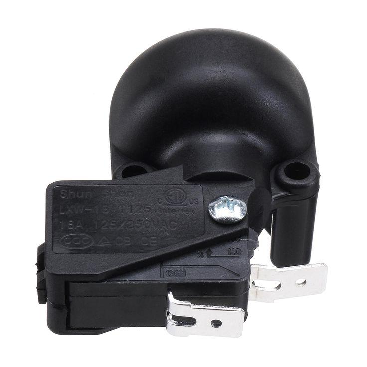Universal AC 250V 50HZ Anti-dump Switch For Outdoor Garden Patio Heater Black