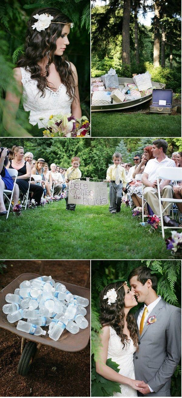 Como fazer um casamento em campo livre ao dia