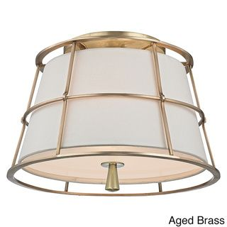 Sale Savona 2 Light Semi Flush in Aged Brass Hudson Valley Lighting from the Original Bowery Lights. Shop our large Hudson Valley Lighting collection and ...  sc 1 st  Pinterest & 16 best T-RH picture lights for art or bookcases images on ... azcodes.com
