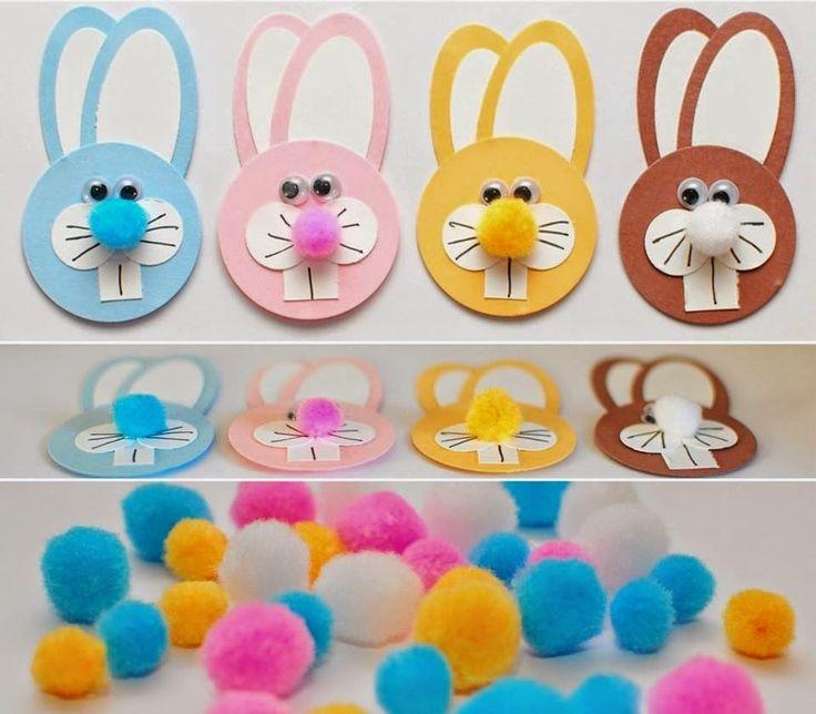 ❀ ✄ Petits lapinoux de Pâques ✄ ❀