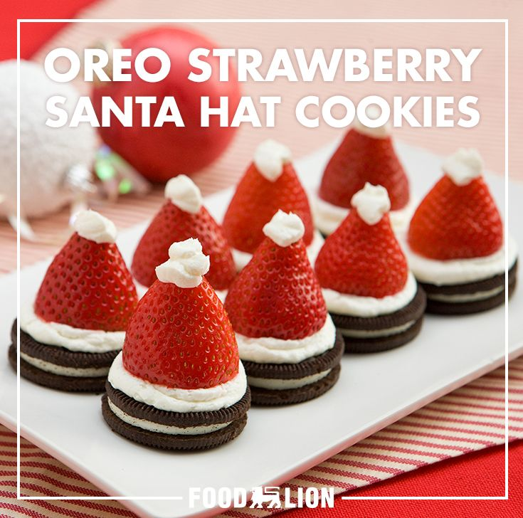 Kick-off your Christmas celebrations with these fresh, festive desserts! After all, who doesn't love an Oreo and strawberry dessert that's ready in minutes?