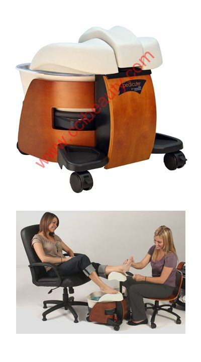 Portable Pedicure Spa $775. Click for details. #pedicures #mobilespa www.OneMorePress.com