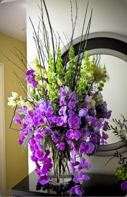 342 Best Purple Centerpieces And Weddings Images On Pinterest