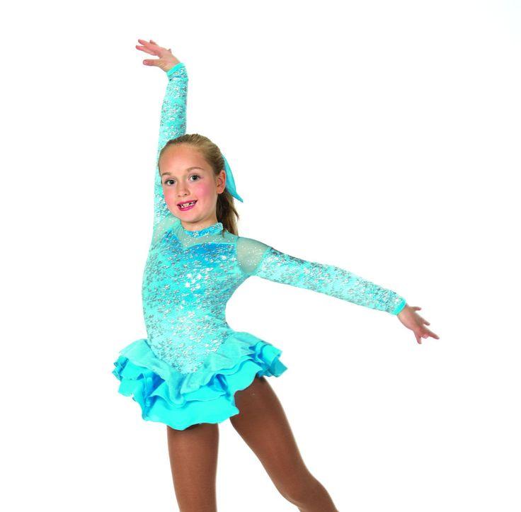 New Jerrys Figure Skating Dress 27 Dancing Skies Made on Order | eBay