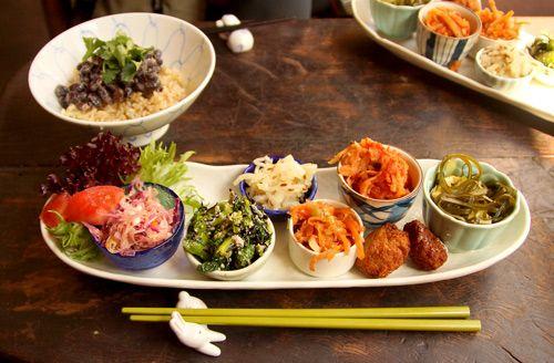Japanese vegetarian lunch