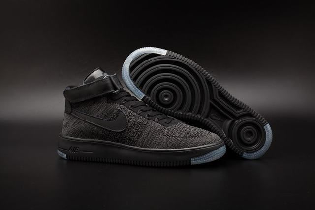 taille 40 ce82e 51981 nike air force 1 basse homme air force 1 flyknit noir homme ...
