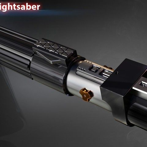 Darth Vader's lightsaber was the personal lightsaber of Darth Vader, a Sith Lord.  He built the weapon some time after his fall to the Dark side of the Force at the end of the Clone Wars.  It replaced the one he lost during his duel with Obi-Wan Kenobi on Mustafar. http://starwars.wikia.com/wiki/Darth_Vader's_lightsaber