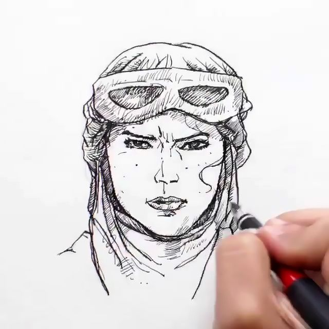 Drawings of Star Wars:The Force Awakens Characters Come to Life in Animated Instagram Videos
