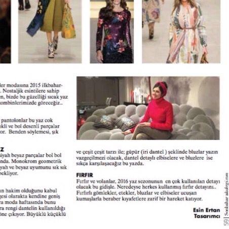 Londra Moda haftasi izlenimlerimi  ALA DERGiSi Aralik ayi ozel sayisi icin yazdim i write London Fashion Week observations and highlights for ALA MAGAZINE  December Issue