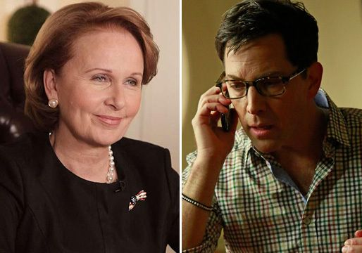 "Fresh off Henry Ian Cusick's shocking return to O.P.A.,Scandalis bringing two more fan-favorite characters back into the fold. Dan Bucatinsky (James ""Publius""Novak) and Kate Burton (Sally ""Crisp..."