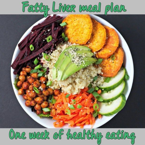 Fatty Liver Meal Plan for a Week   Fatty Liver Diary
