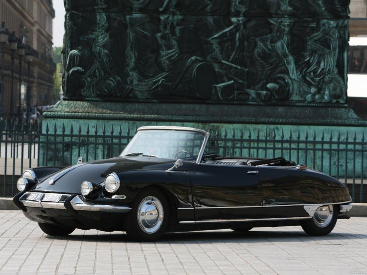 Fotografía de Citroen ds 21 decapotable 1965-1968 (1 de 6). | noticias.coches.com  Want to drive one for a day ( a sunny day) : )