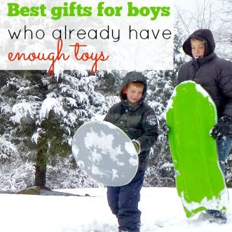 Do you have a hard time deciding what to get the boy who already has too many toys? Make sure you don't have another holiday with a lot of abandoned presents. Here are 15+ no-fail gift ideas for boys that will make any kid happy on Christmas morning.