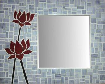 Espejo de mosaico de vidrio 10% descuento por MIRRORMONTAGES                                                                                                                                                                                 Más
