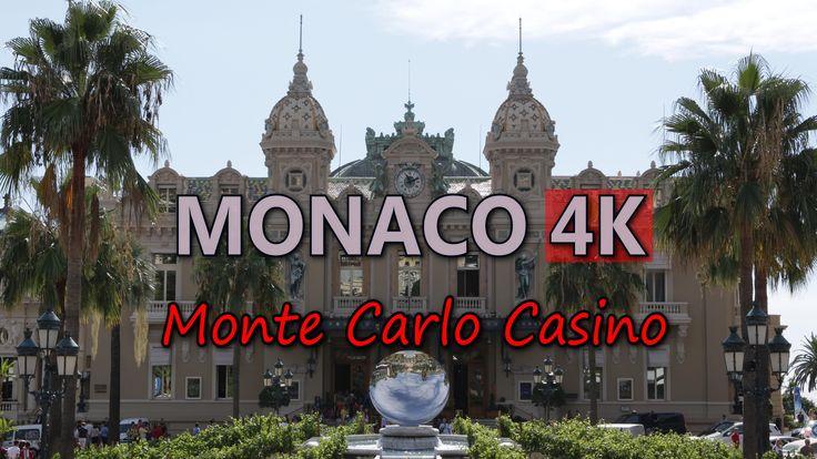 Ultra HD 4K Monaco Monte Carlo Casino Travel Top Sightseeings Entertainment UHD Video Stock Footage