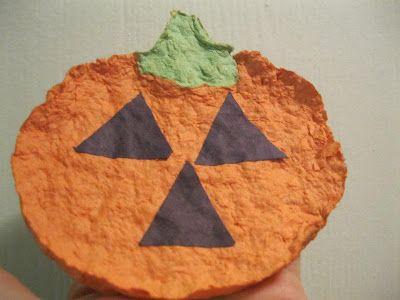 Pumpkin Crafts … Bring on the Paper Pumpkins