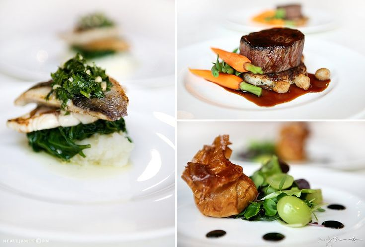 Mouthwatering dishes from the menu at Botleys Mansion