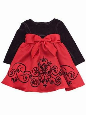 Goth Shopaholic: Christmas Dresses for Goth Babies and Little Goth Girls