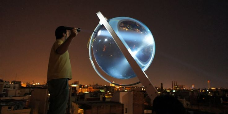Geceleri bile elektrik üretebilen alternatif enerji sistemi: Cam küreler-