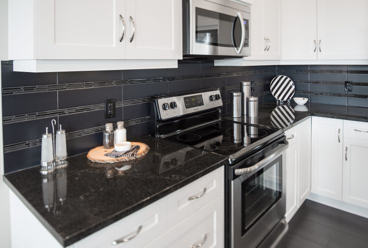 The Berkley Kitchen in Hillcrest – Trico Homes – Check out the new homes built by www.tricohomes.com #homebuilder #tricohomes #calgary