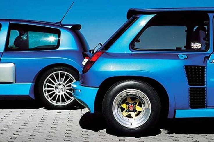 Clio V6 vs. 5 Turbo