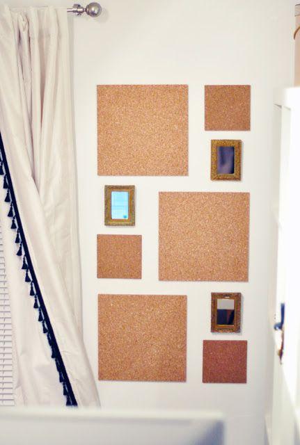 DIY: un poco de corcho y alegra esa pared!! | lilaygris