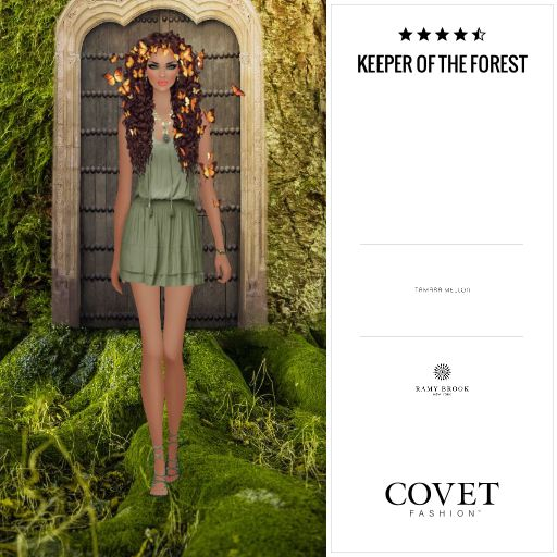 Covet Fashion - Daily: Keeper of the Forest ✨4.68 (3.93 from votes)