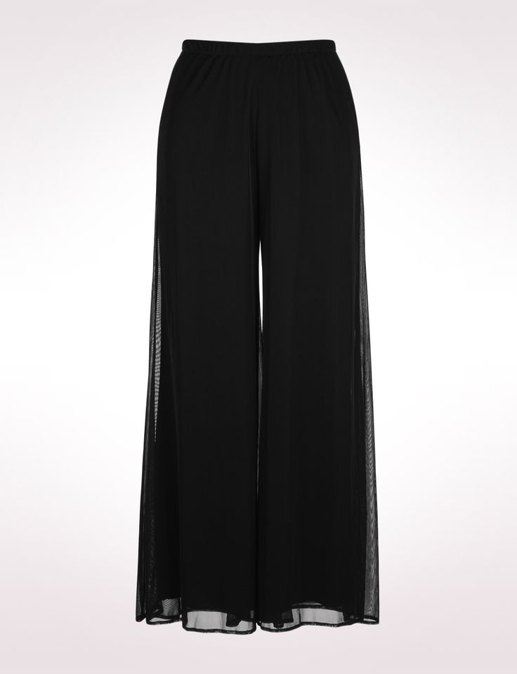 Chiffon Palazzo Pants--perfect for cruise and wedding! :)