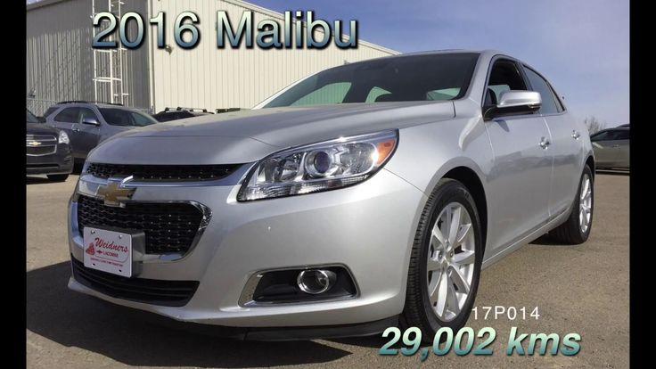 Used 2016 Chevrolet Malibu FOR SALE / Silver, FWD, LZ / 17p014